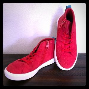 NATIVE high top boys shoes